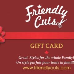 Friendly Cuts Gift Card