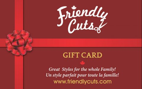 Friendly Cuts Gift Card