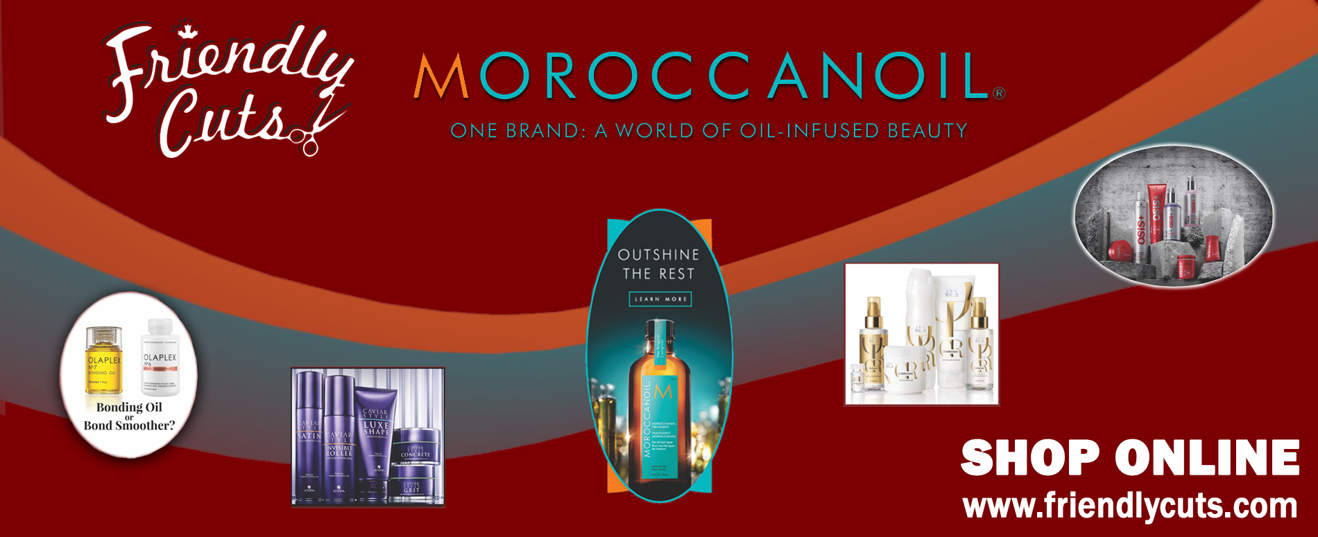 Moroccanoil at Friendly Cuts